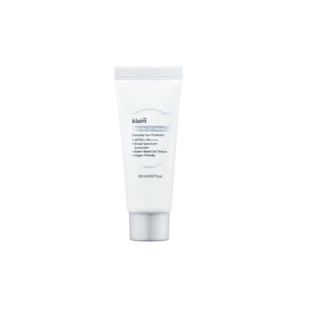 Klairs Soft Airy UV Essence, Солнцезащитная эссенция 50++++, 20 мл