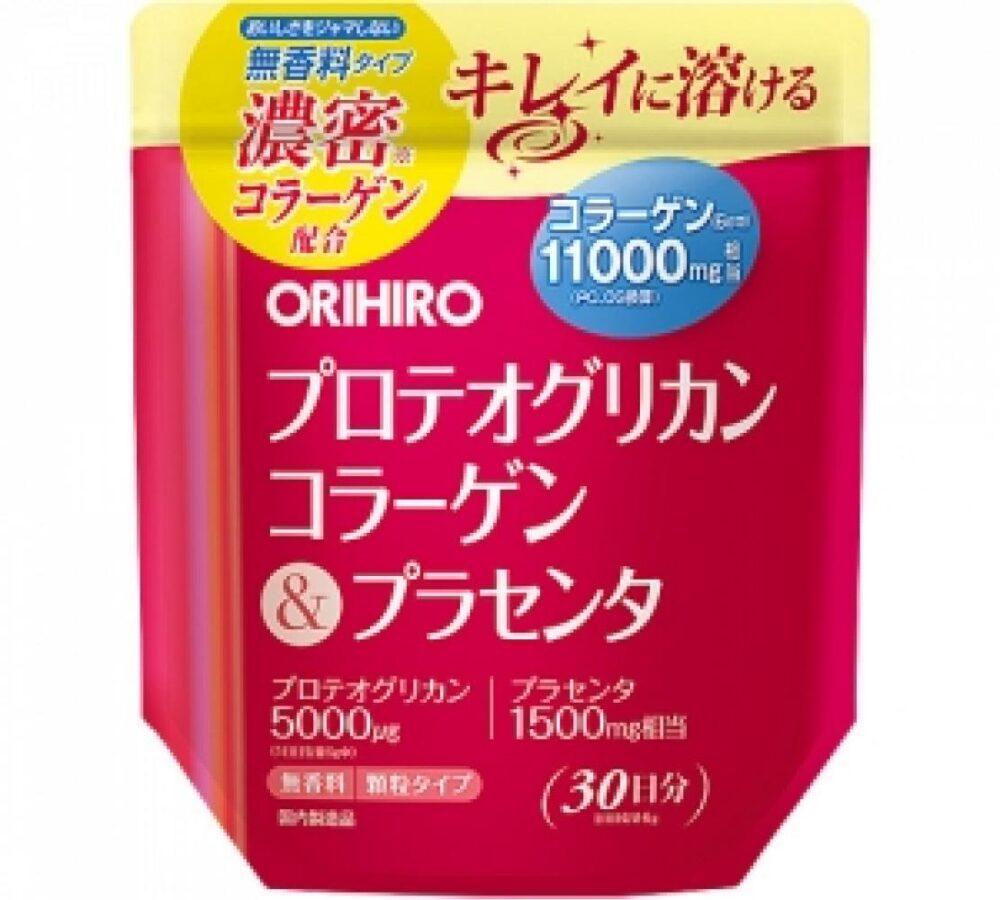 Orihiro Коллаген 11000 мг + плацента + протеогликан на 30 дней