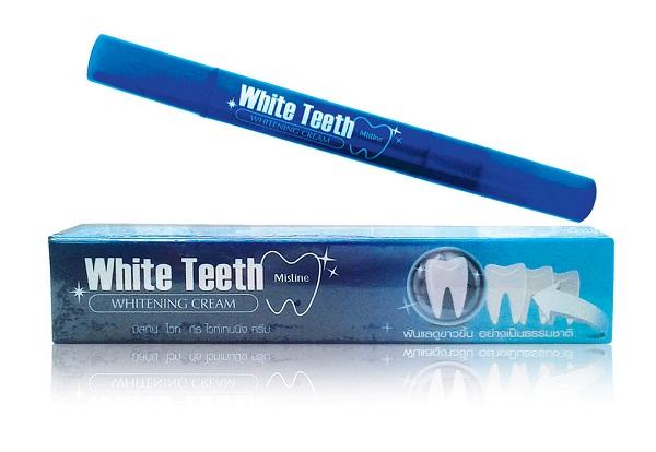 Mistine отбеливающий крем для зубов, 2.3 гр.
