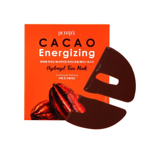 Petitfee  Energizing Mask, Противоотечная гелевая маска на основе кофеина, 1 шт