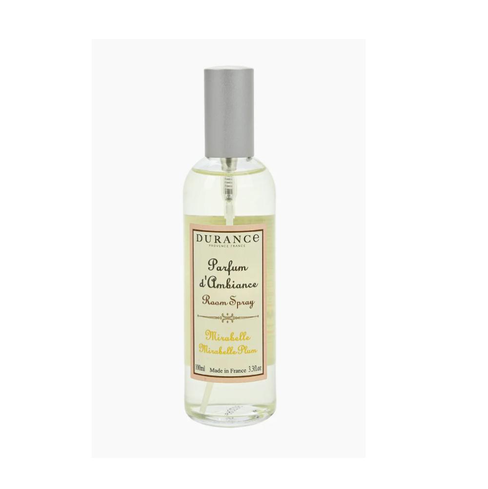 DURANCE Parfume d`Ambiance Mirabelle Plum, Спрей для дома Слива Мирабель,100 мл