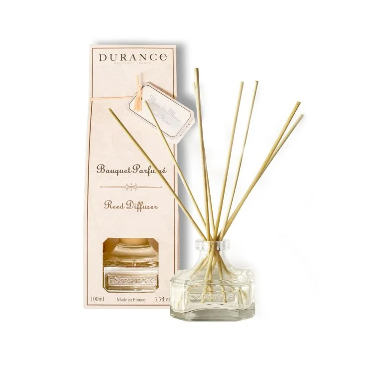 DURANCE Bouquet Parfume Reed Diffuser Musk Flower, Диффузор Цветок мускуса, 100 мл
