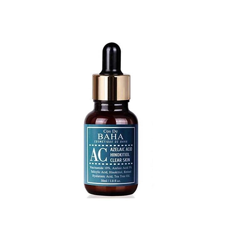Cos De BAHA Azelaic ACID Hinokitiol Clear Skin serum, Сыворотка с азелаиновой кислотой, 30 мл