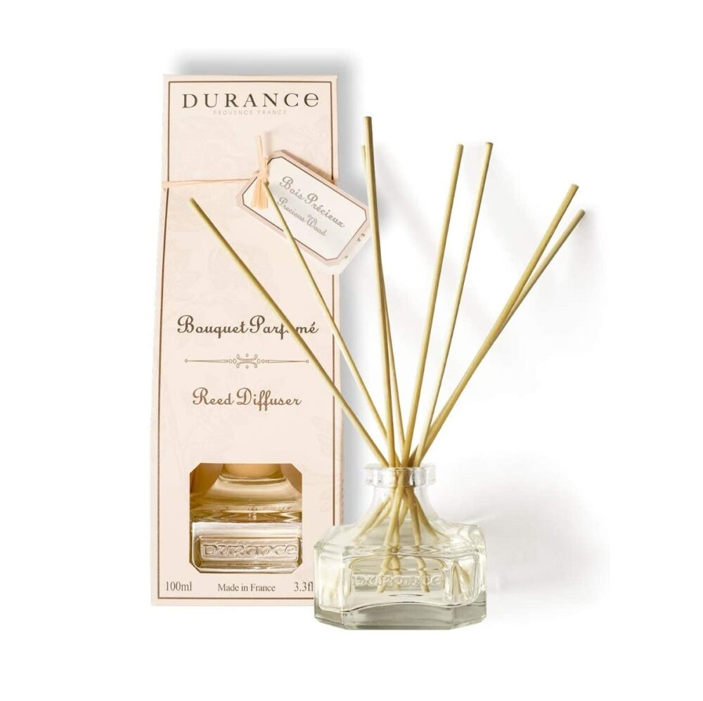 DURANCE Bouquet Parfume Reed Diffuser Precious Wood, Диффузор Драгоценное дерево,100 мл