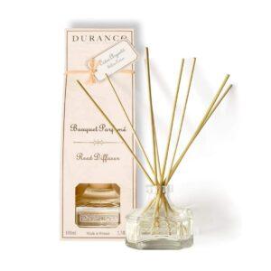 DURANCE Bouquet Parfume Reed Diffuser Silver Cedar, Диффузор Серебряный кедр,100 мл