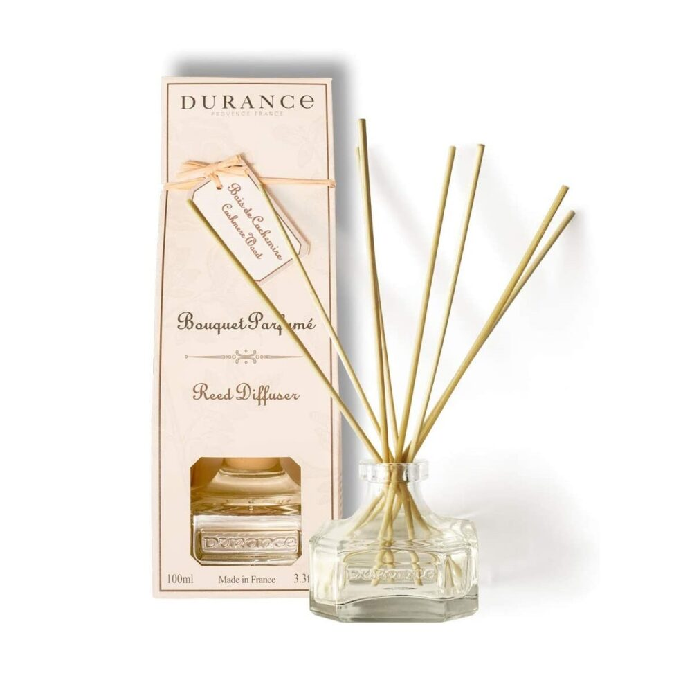 DURANCE Bouquet Parfume Reed Diffuser Cashmere Wood, Диффузор Дерево кашемира, 100 мл