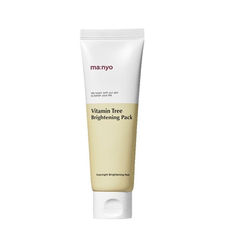 Ma:nyo Vitamin Tree Brightening Pack, Витаминная ночная маска с медом, 75 мл