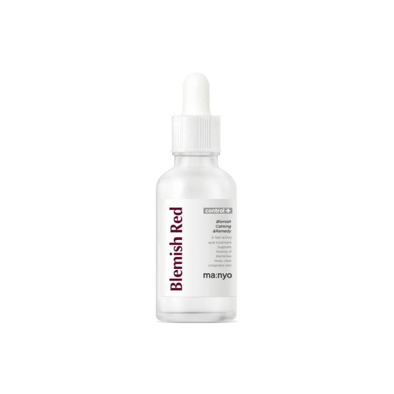 Ma:nyo Blemish Red Ampoule, Сыворотка для проблемной кожи с мадекассосидом, 30 мл
