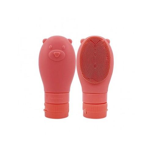Wellderma Gomdochi Foam Cleanser Blanche, Пенка для умывания осветляющая с силиконовой щеточкой, 60 мл