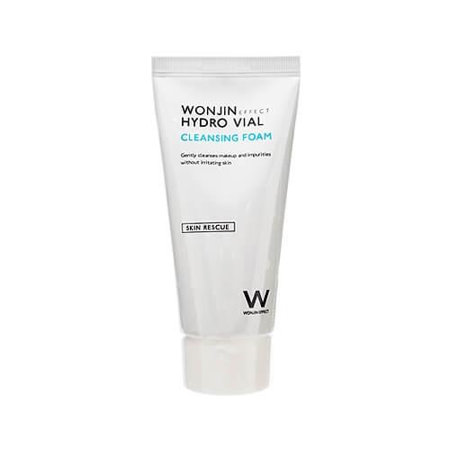 Wonjin Medi Hydro Vial Cleansing Foam, Пенка для умывания с гиалуроновой кислотой, 80 мл