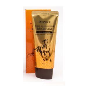 Deoproce Horse Oil Hyalurone BB Cream, ВВ крем с лошадиным жиром и гиалуроновой кислотой № 23, 60 гр