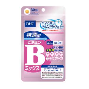DHC Витамины B mix на 30 дней, 60 таблеток (Новая упаковка)