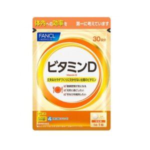 FANCL Vitamin D, Витамин Д, 30 таблеток