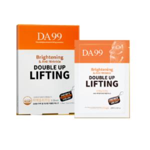 DA99 Double Up Lifting, Лифтинговая маска с хитозаном и пептидами, 5 штук