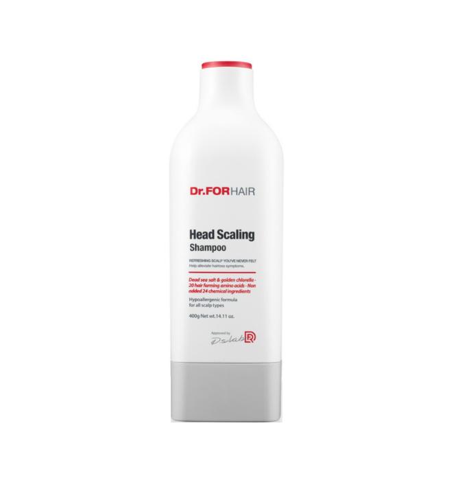 Dr.Forhair Head scaling shampoo, Шампунь для глубокого очищения кожи головы, 400 мл