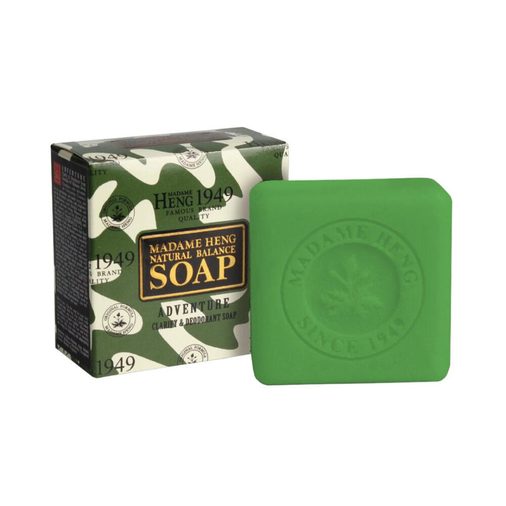 Madam Heng natural balance soap adventure clarify & deodo Мыло антибактериальное, 150 гр