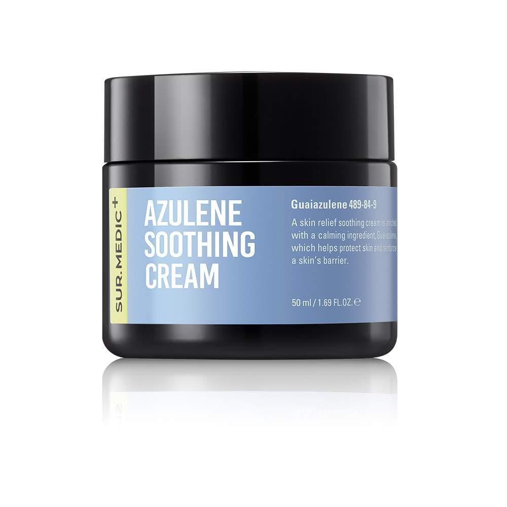 Sur. Medic+ azulene soothing cream, Успокаивающий крем с азуленом, 50 мл