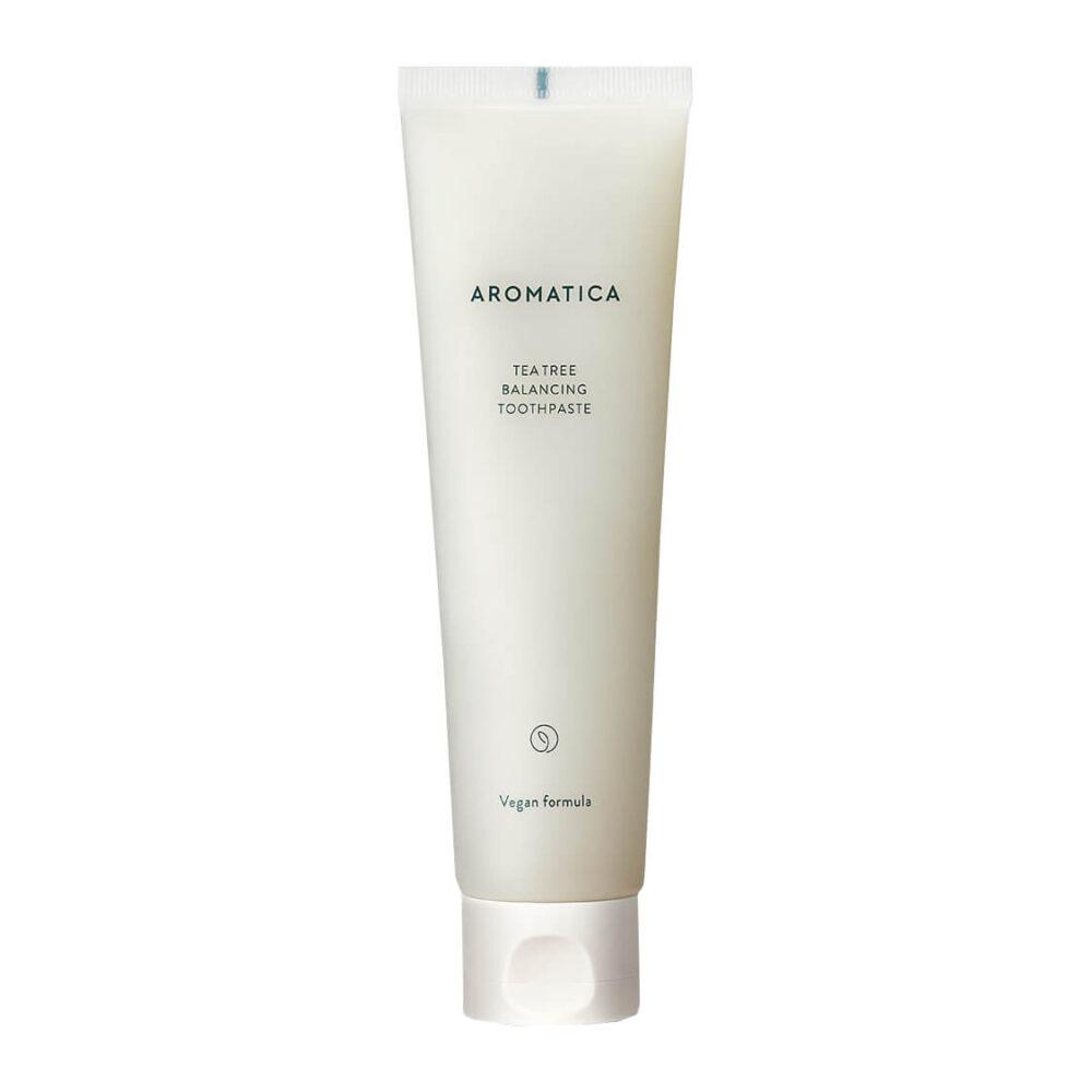 Aromatica Tea Tree Balancing Toothpaste, Органическая зубная паста, 130 гр