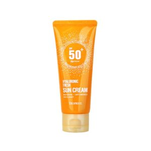 Deoproce Hyaluronic Fresh Sun Cream, Солнцезащитный крем, 60 гр