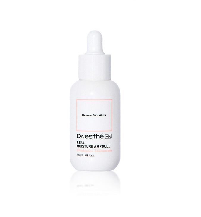 Dr.Esthe Real Moisture Ampoule, Сыворотка на основе  пробиотиков и керамидов, 50 мл