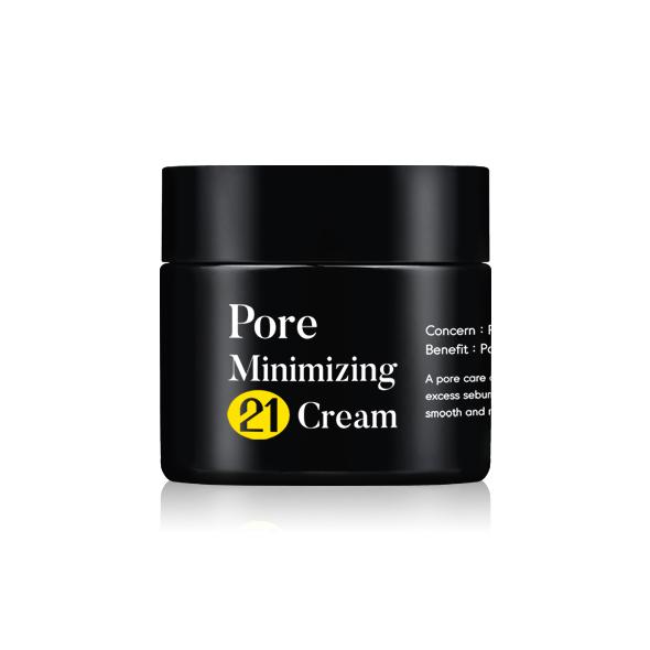 TIAM Pore Minimizing 21 Cream, Крем для сужения пор и регулировки жирности, 50 мл