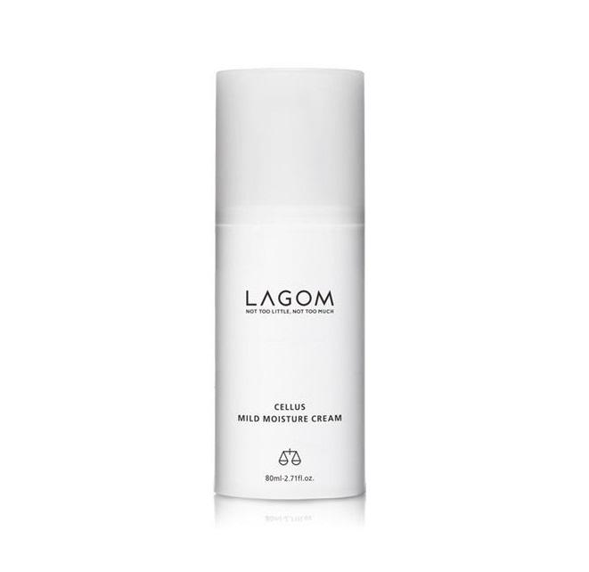 Lagom Cellus Mild Moisture Cream, Легкий увлажняющий крем для лица, 80 мл