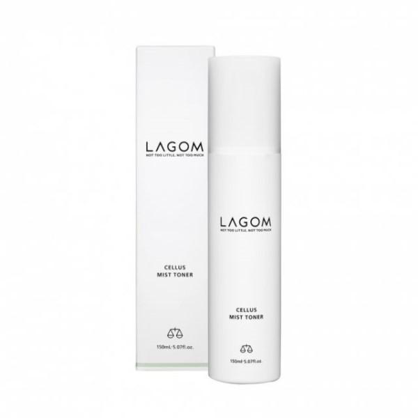 Lagom Cellus Mist Toner, Увлажняющий тонер-мист для лица, 120 мл