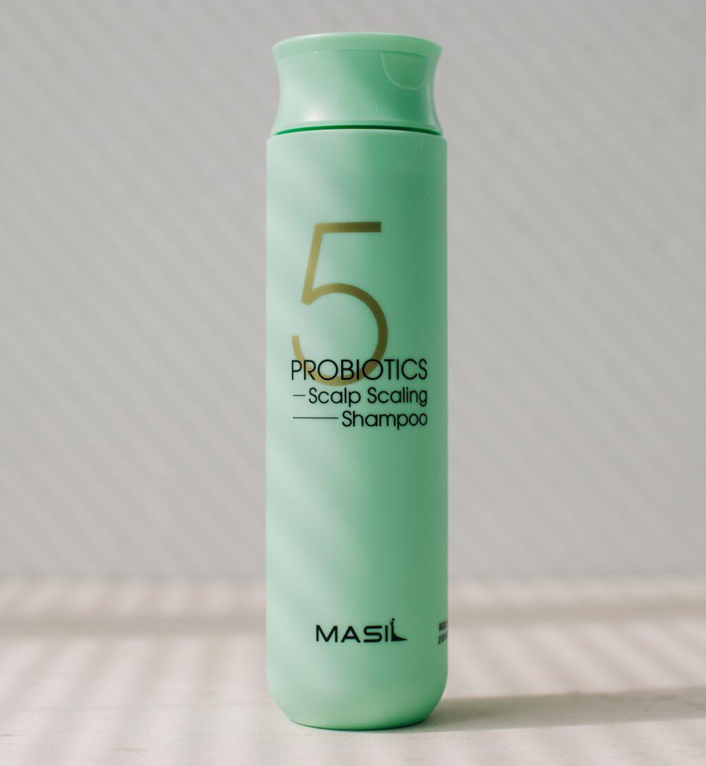 Masil Probiotics Scalp Scaling Shampoo, Глубокоочищающий шампунь с пробиотиками, 300 мл