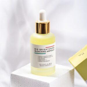 Usolab Bio Brightening Bleaching Ampoule, Интенсивная концентрированная ампула для борьбы с пигментацией кожи на основе идебенона и полипептидов