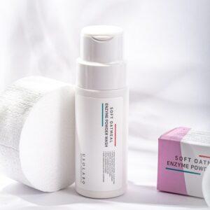 Usolab Soft Oatmeal Enzyme Powder Wash, Энзимная пудра
