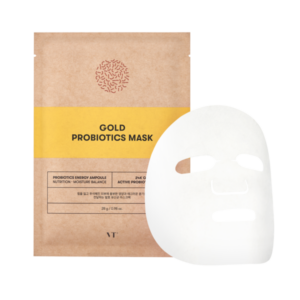 VT Gold Probiotics Mask, Тканевая маска с пробиотиками, 1 шт