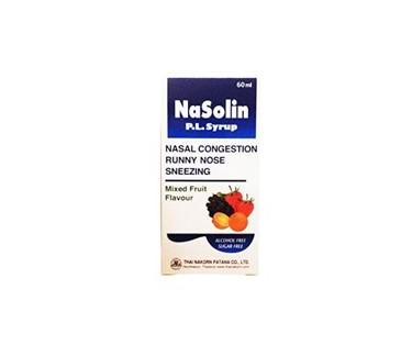 NaSolin Детский сироп от насморка, 60 мл